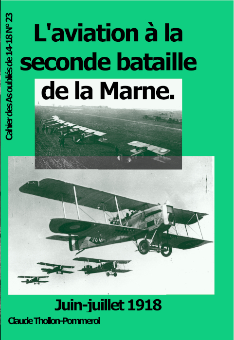 L'aviation à la seconde btaille de la Marne